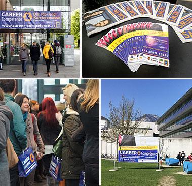 CAREER & Competence Innsbruck Karrieremesse